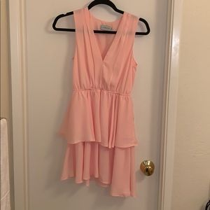 Pink dress from nasty gal